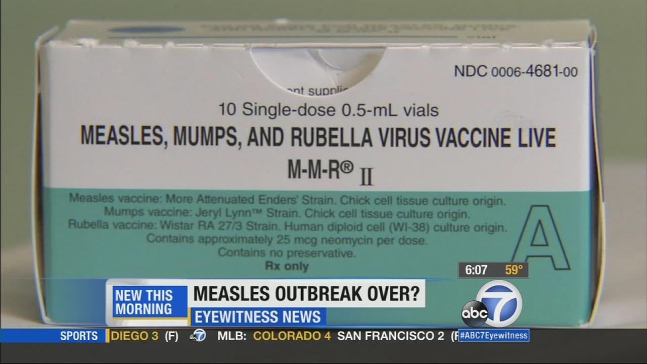 If no new cases pop up, the measles outbreak in California that was linked to Disneyland could officially be declared over.