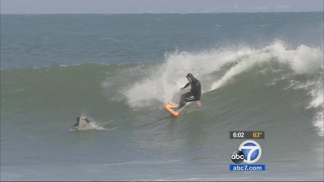 High Surf Advisory In Effect For Socal Beaches Until Tuesday Abc7