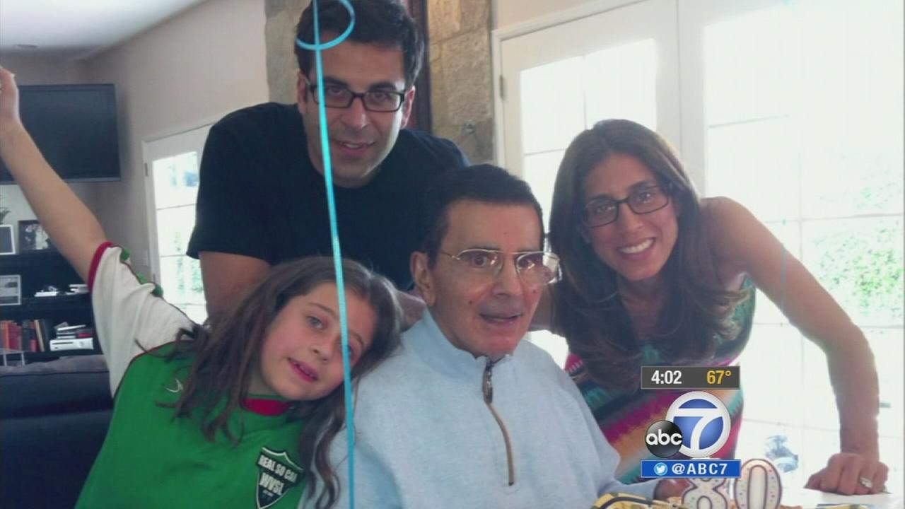 Casey Kasem is seen with his family in this undated file photo.