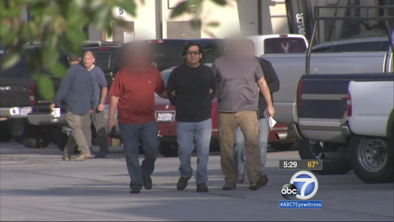 Federal authorities arrested 27 high-profile fugitives from foreign countries in the U.S., including six in Southern California, in a three-day sweep.