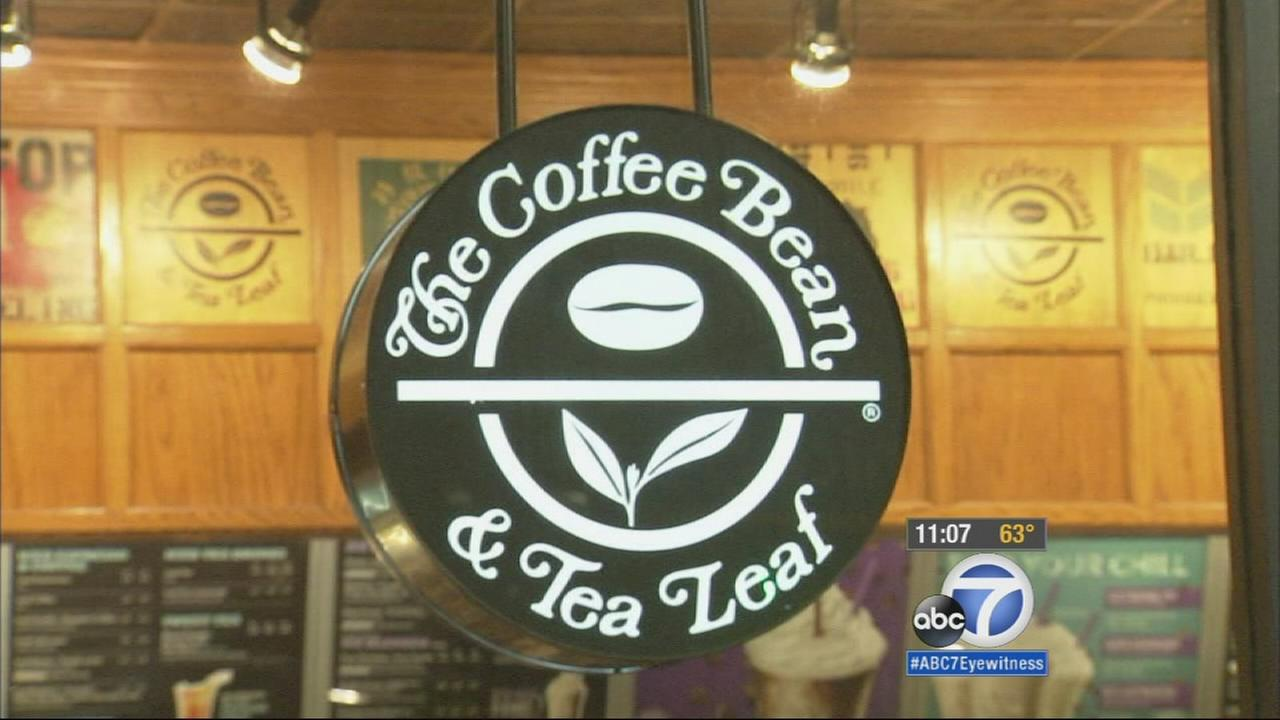 A Coffee Bean and Tea Leaf logo is shown in this undated file photo.