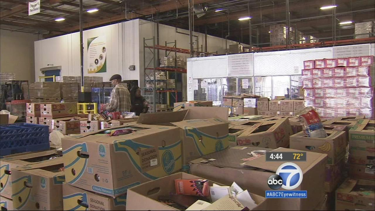 ABC7 and several partners are working together to help gather donations for local food banks to help feed those in need throughout Southern California.