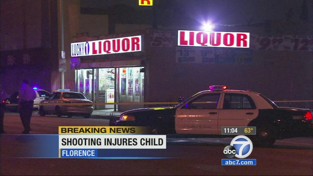 Los Angeles County sheriffs deputies were investigating the death of a man who was fatally shot in front of a liquor store in Florence on Sunday.