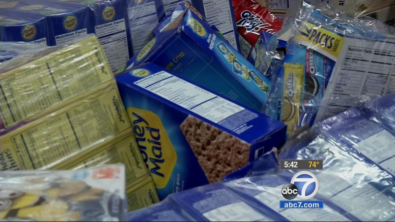 For the entire month of June, ABC7 is working with local food banks as part of the Feed SoCal food drive. One of those locations is in Orange County.
