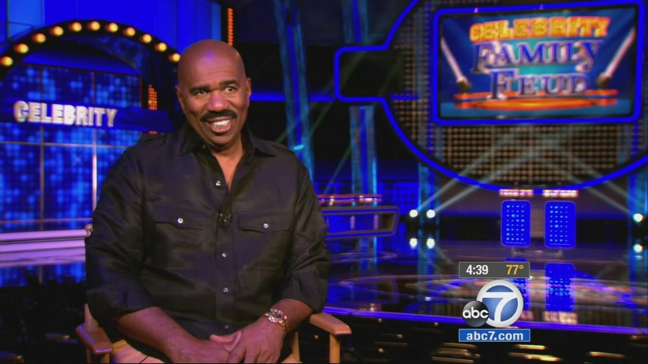 Comedian Steve Harvey is bringing the fun of long-running game show Family Feud to ABC with a twist.