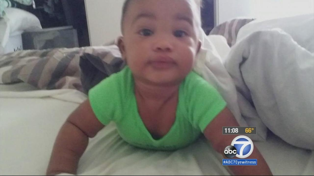 The 6-month-old son of Kwame Carpenter is shown in this undated file photo.