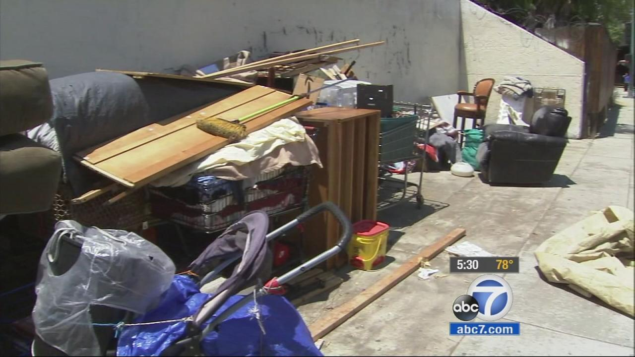 The Los Angeles City Council approved a measure Tuesday to make it easier to dismantle homeless encampments around the city.