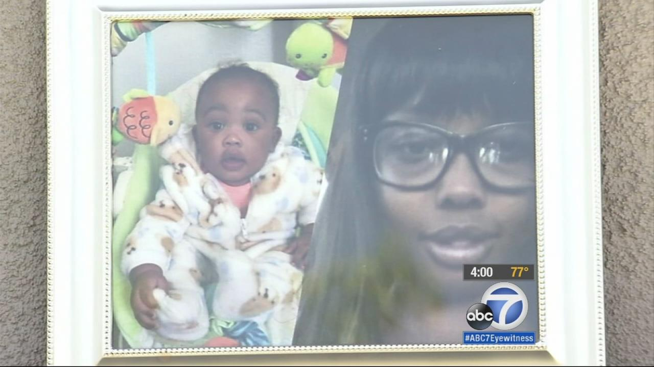 A photo of the mother and 6-month-old boy found stabbed to death are shown.
