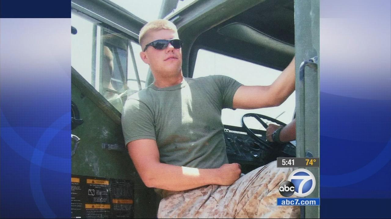 Brian Ladd and his wife celebrated the July Fourth weekend with volunteers who helped with repairs the veteran couldnt get to in his Murrieta home.