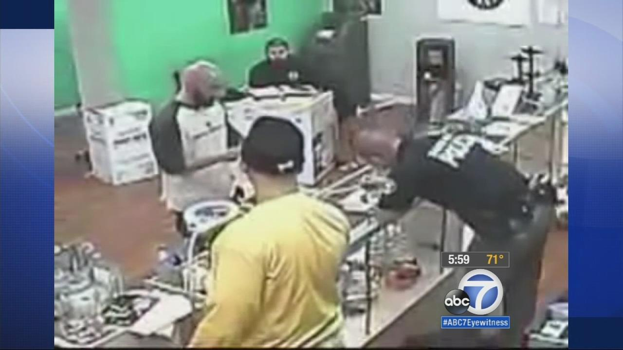 A Santa Ana marijuana dispensary has filed a multi-million dollar lawsuit following a raid where police officers are accused of eating marijuana edibles.