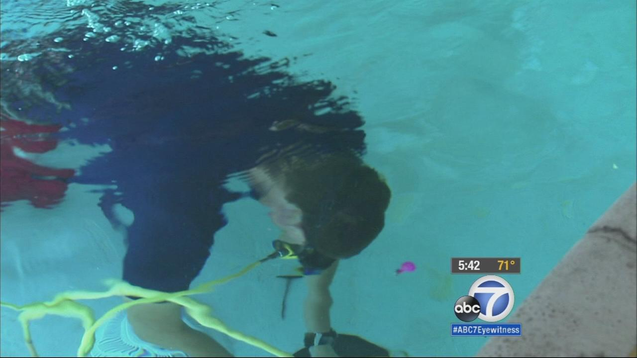 The drought is having an impact on many local businesses. That includes pool repair.