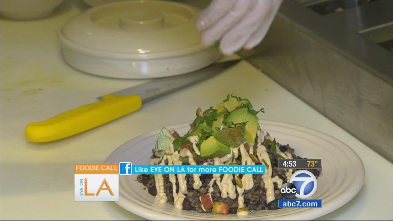 Eye on L.A. host Tina Malave takes a look at a restaurant trying to feed more than your stomach. Its trying to feed your soul, too.