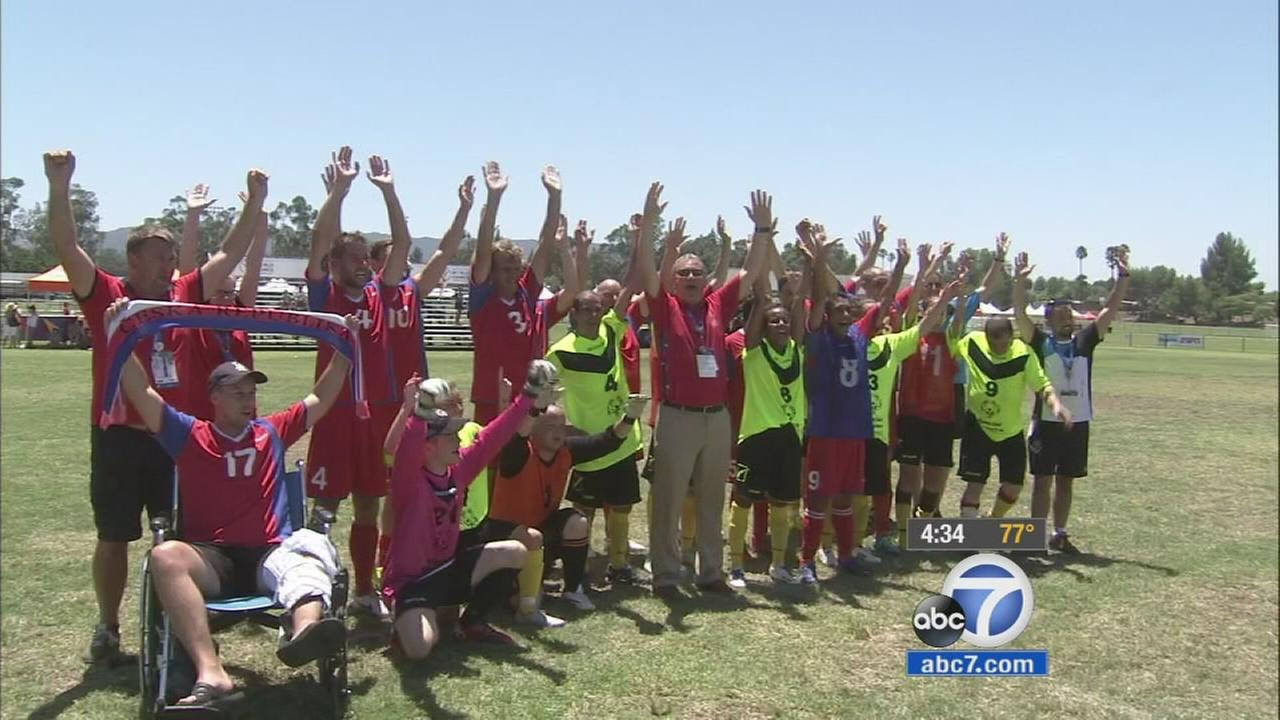 The heat didnt slow down athletes on the fifth day of the Special Olympics World Games.
