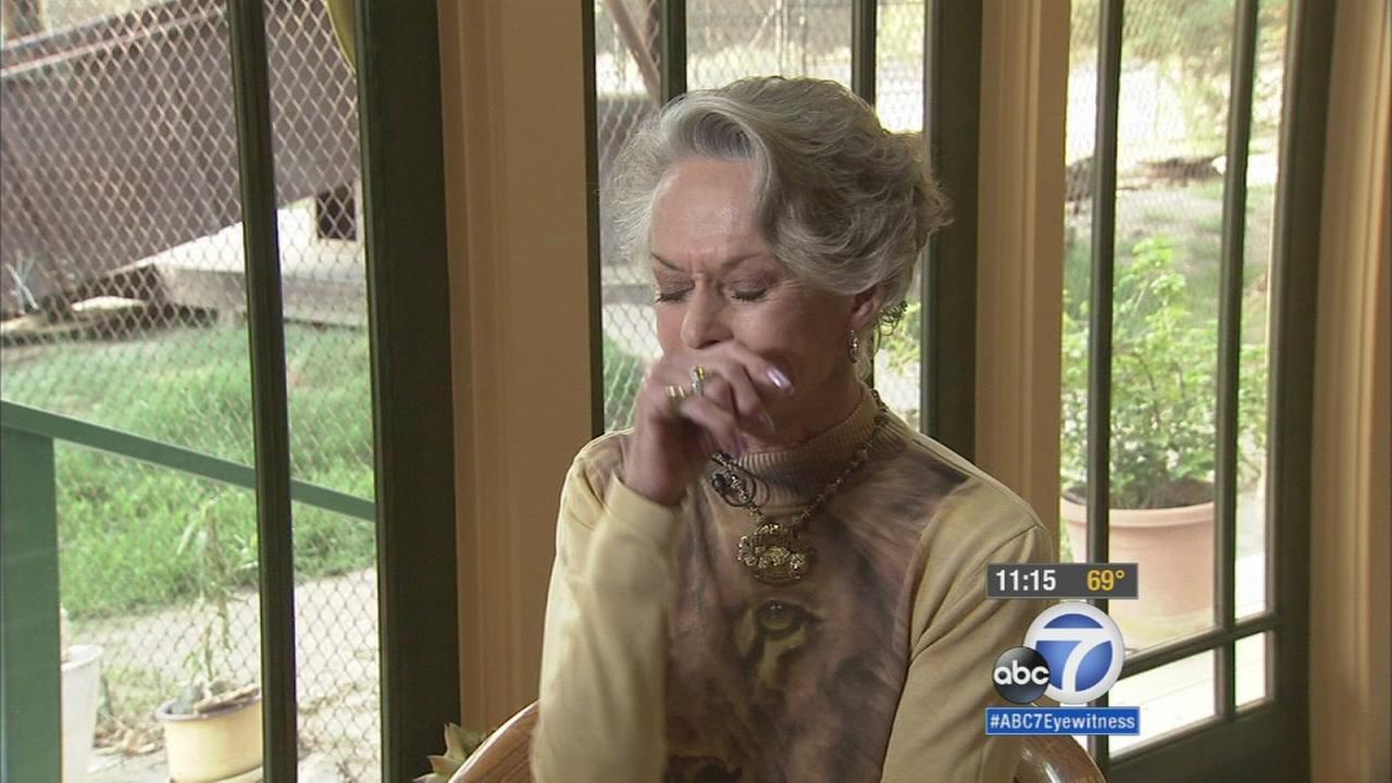 Animal rights activist Tippi Hedren speaks out about Cecil the Lions death