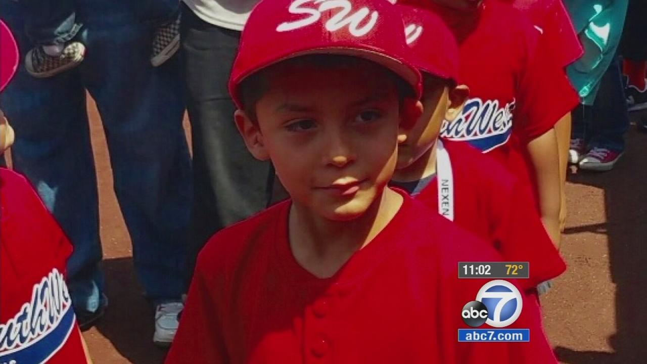 Ivan Sandoval, 6, is shown in an undated photo.