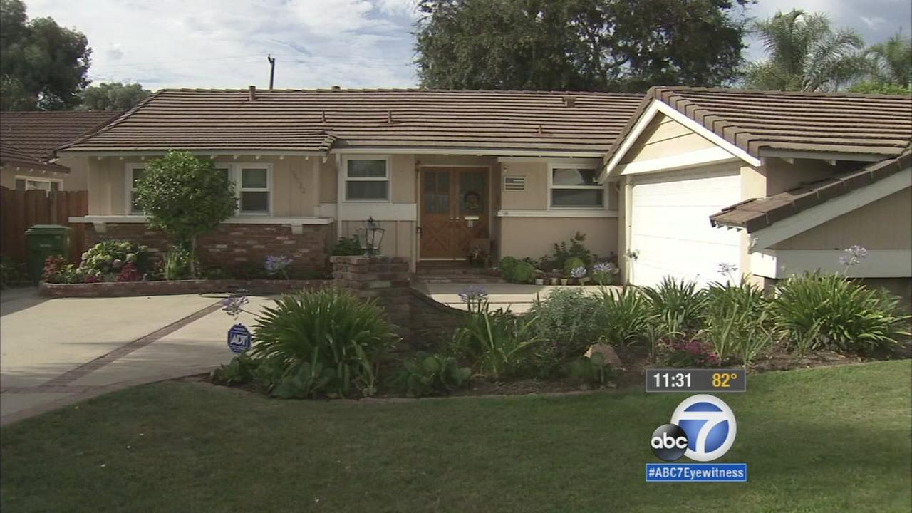 A search is underway for a sexual assault suspect who barged into a Granada Hills home and tried to kiss a housekeeper.