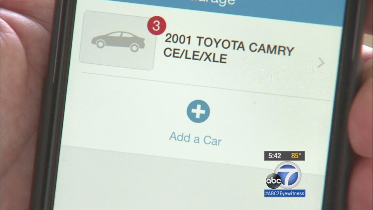 A new app created by Car Fax shows drivers if their vehicle what kind of recall it may have.