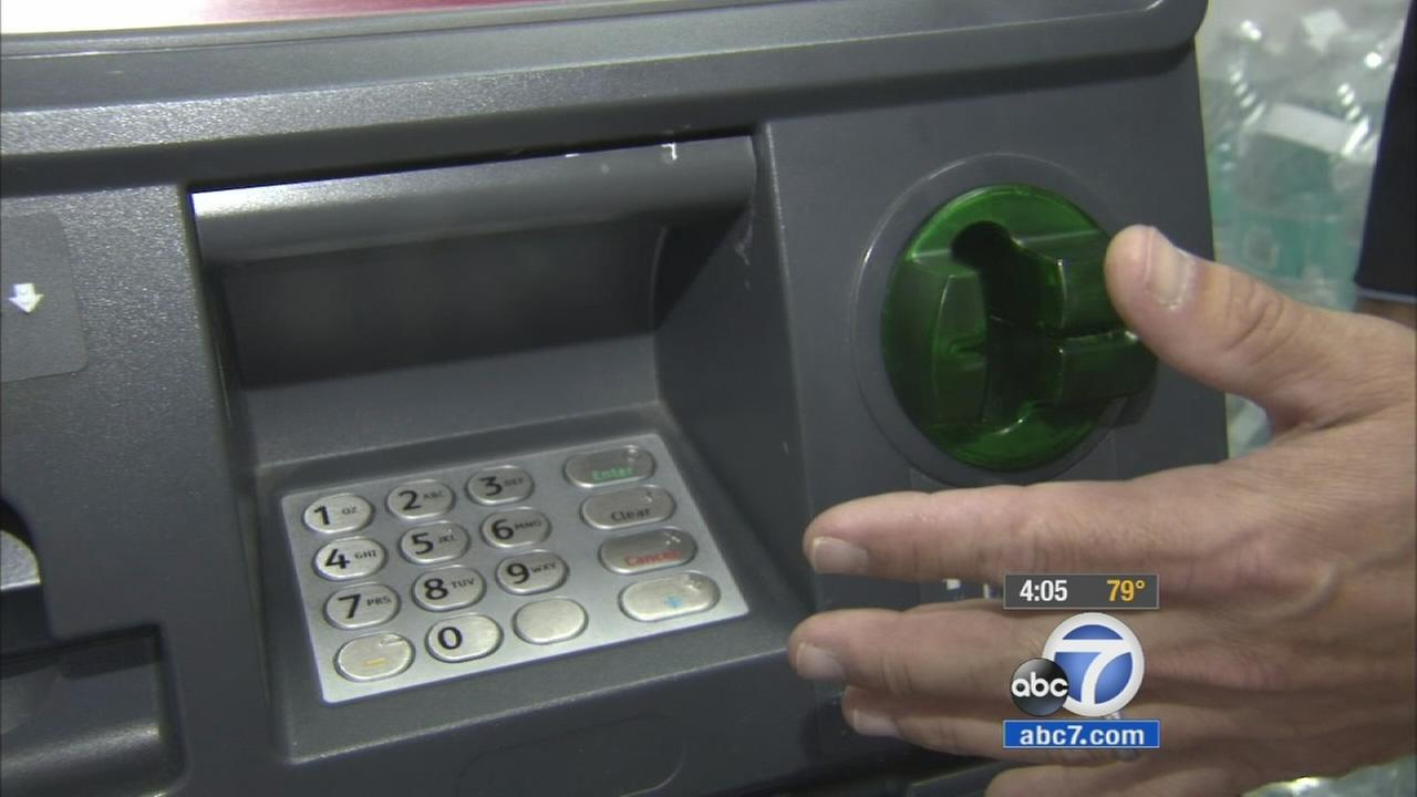 An ATM machine inside an El Segundo 7-Eleven is shown in the image above.