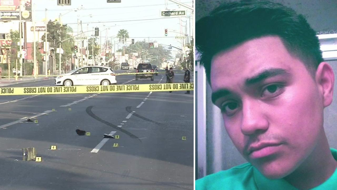 Joshua Maldonado, 17, is shown in an undated photo. He was struck and killed by a hit-and-run driver in Bell on Saturday, Aug. 29, 2015.