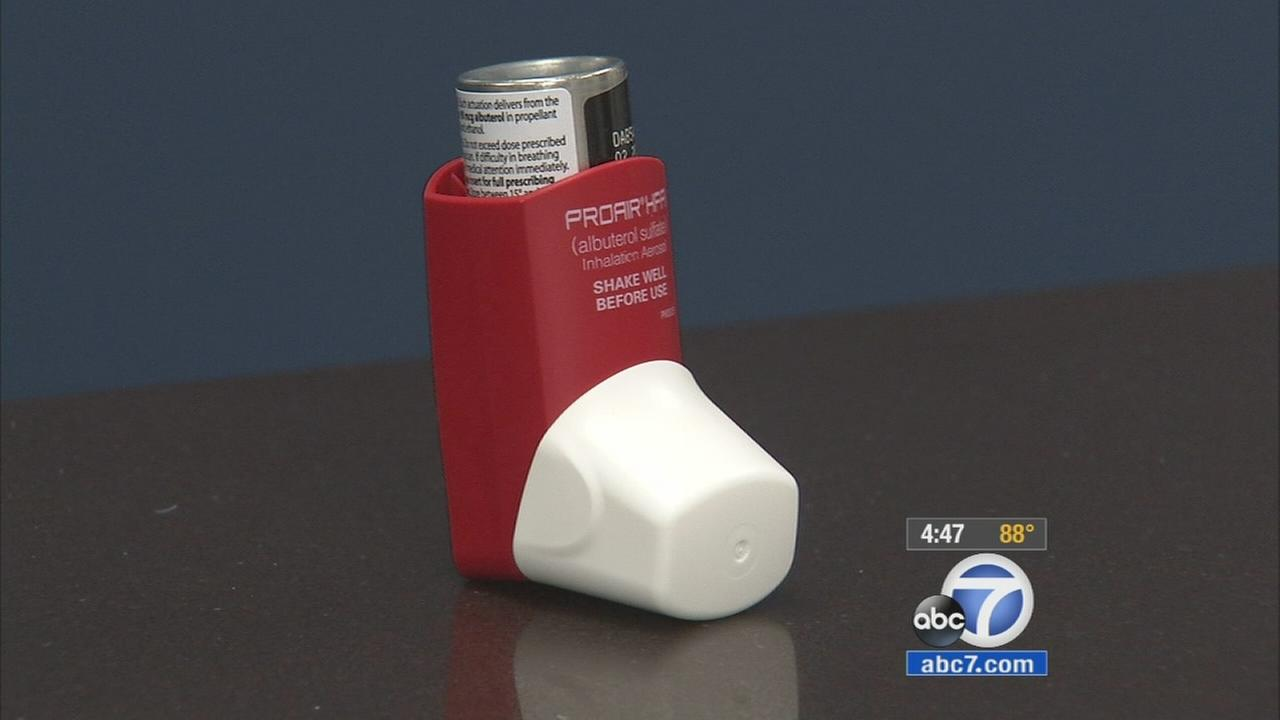 Allergy specialists say theyre seeing a big spike in asthma cases this time of year.