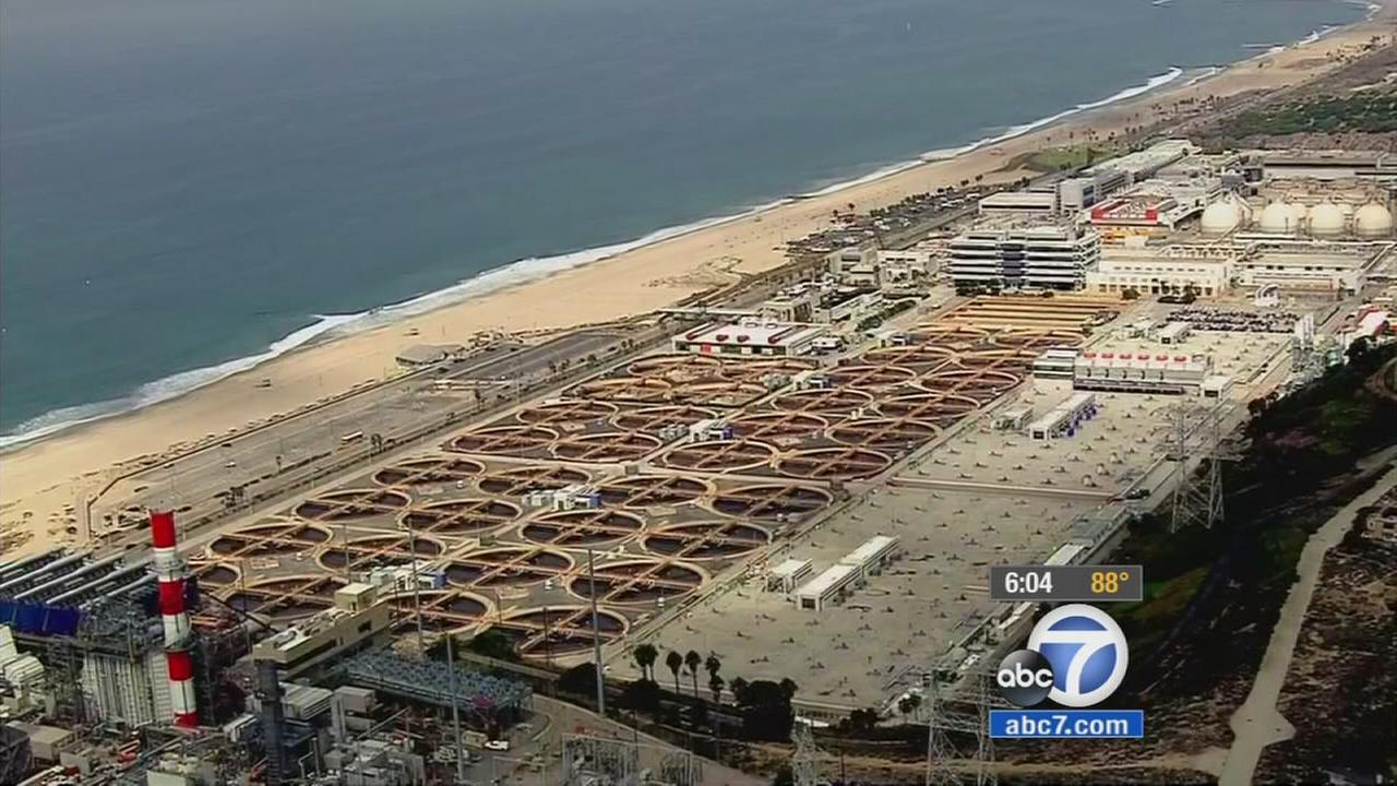 A broken sewage pipe is causing wastewater to be dumped closer to the ocean throughout local beaches, officials said Thursday, Sept. 10, 2015.