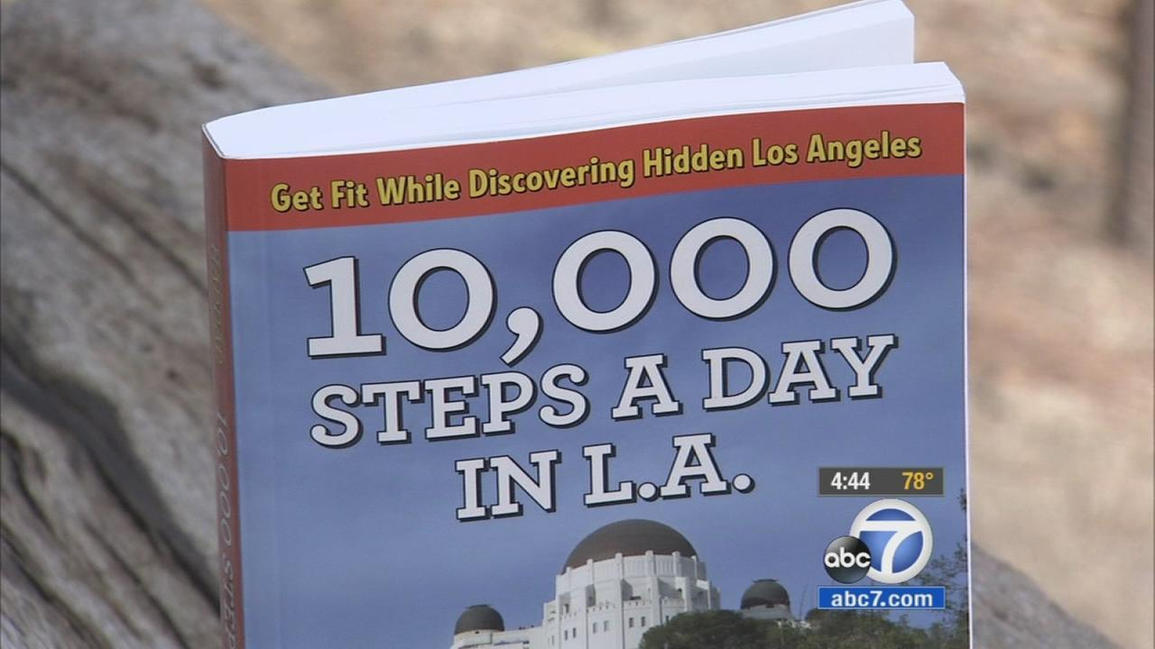 Book '10,000 Steps' offers 52 walking adventures with L.A.'s top hiding  spots | abc7.com