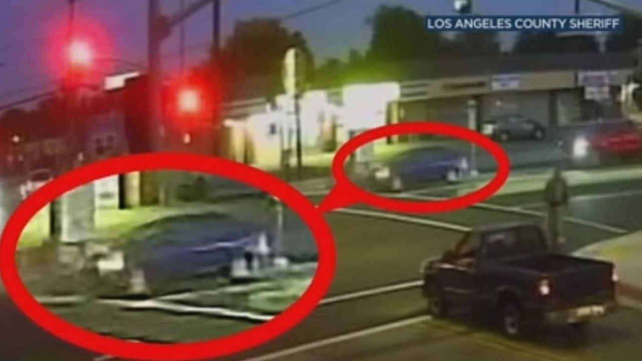 The Los Angeles County Sheriffs Department has released a new look at the car that struck and killed a 79-year-old woman in Norwalk.