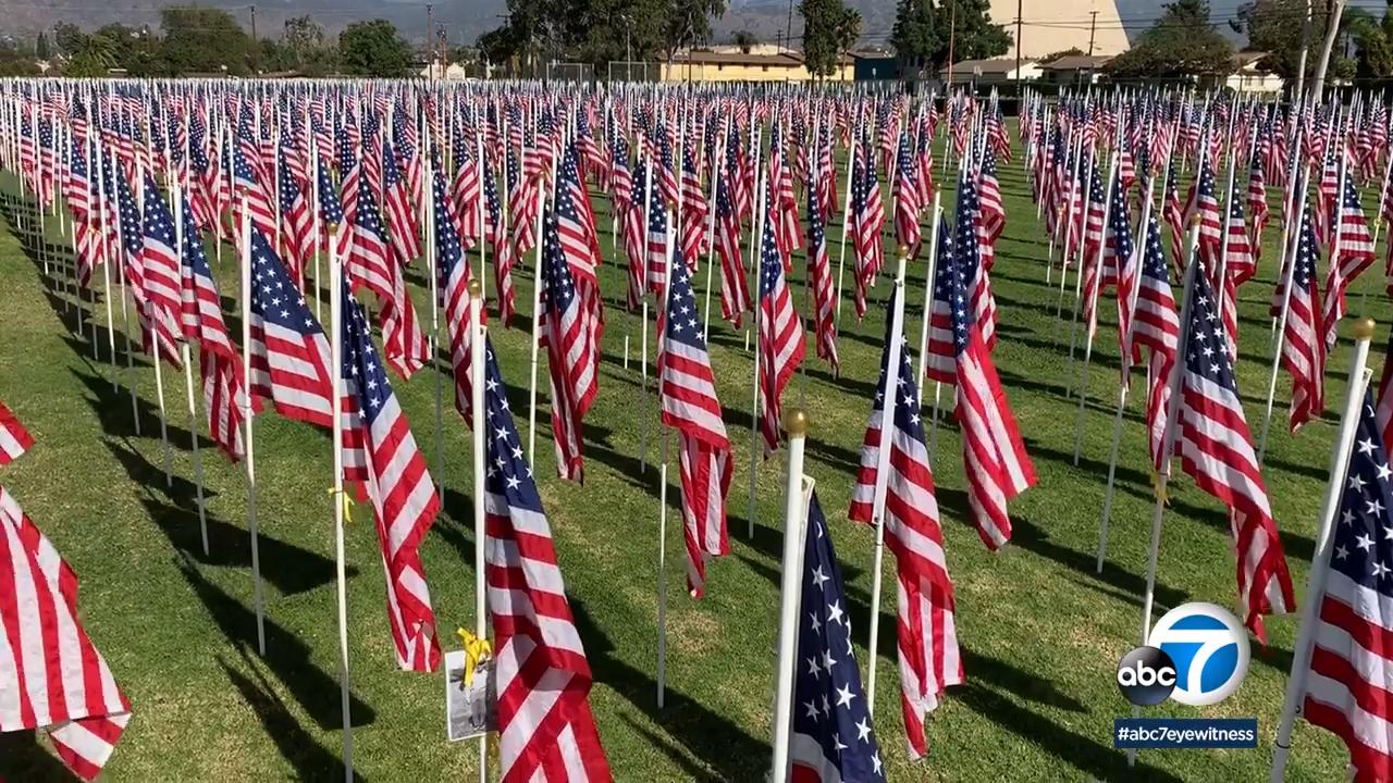 Sierra Vista School in Covina pays tribute to veterans
