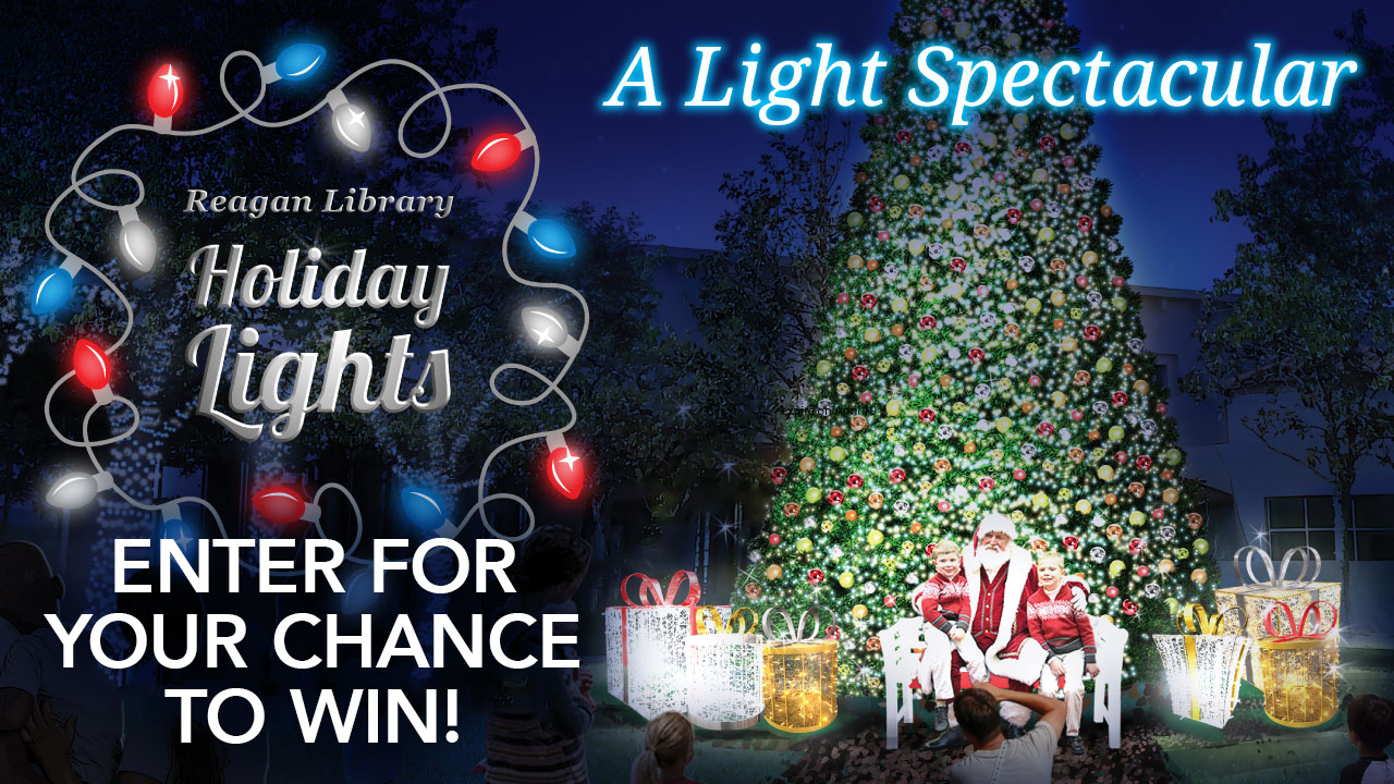 ABC7 wants to give you a chance visit The Great American Christmas: Holiday Lights at the Reagan Library!