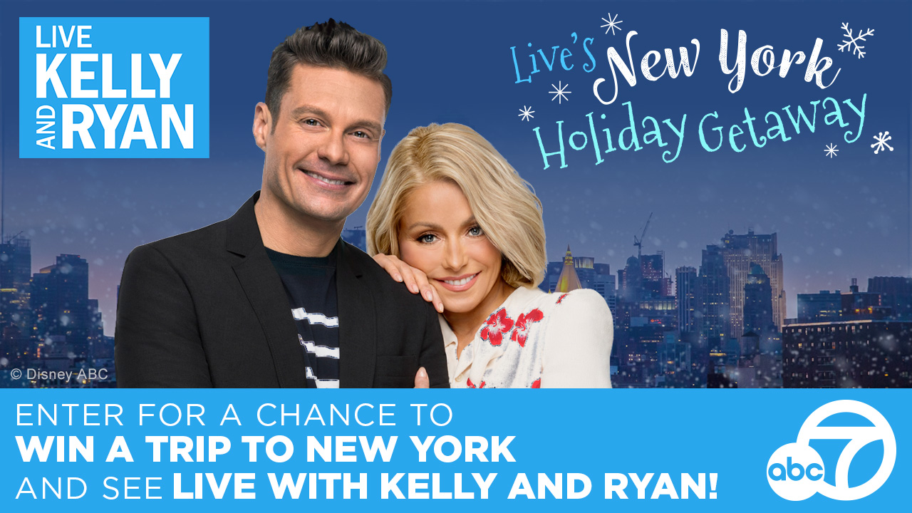 ABC7 and LIVE want to give you a chance to win a getaway for two to New York City!