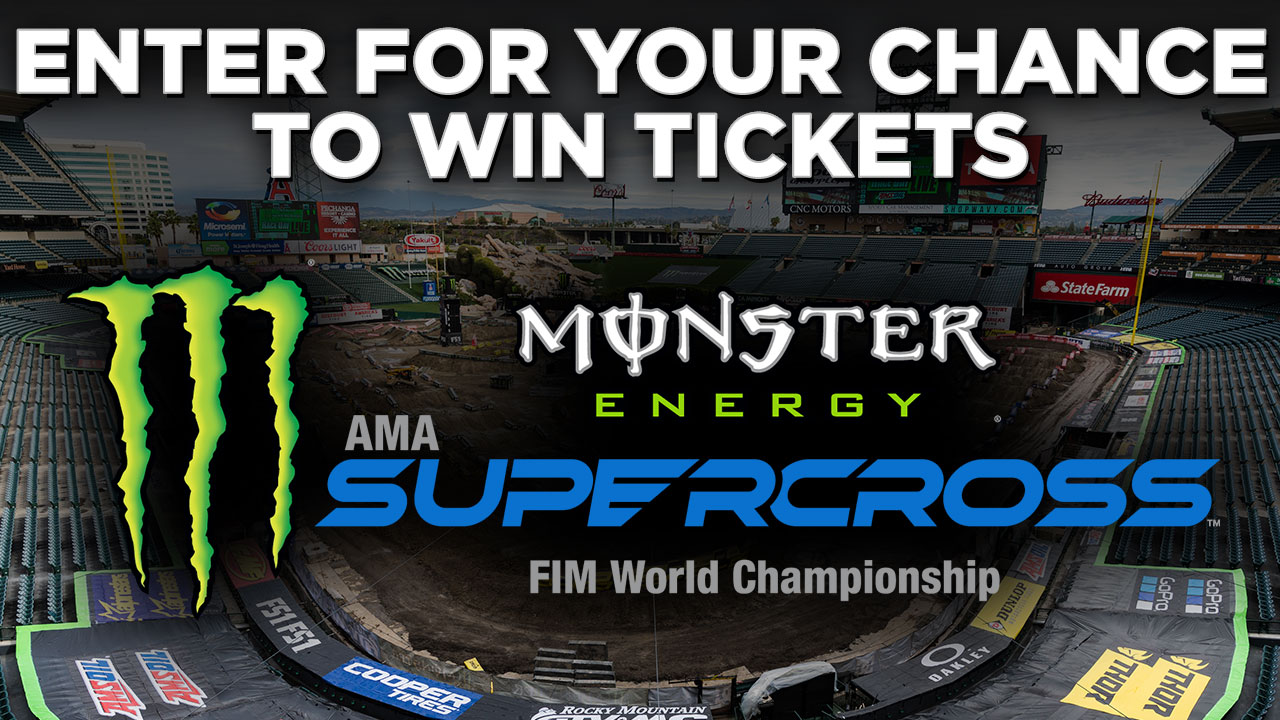 ABC7 wants to give you a chance to win a family 4-pack of tickets to attend Monster Energy Supercross Live!