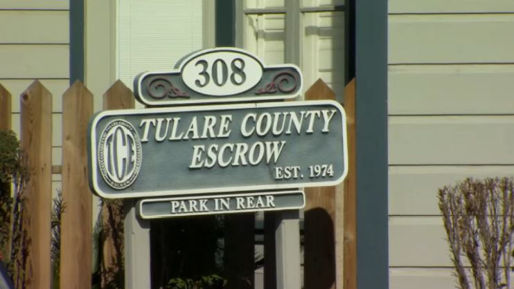 Men arrested for late night burglary at Tulare County Escrow in Visalia