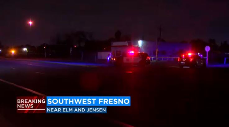 Police search for suspect that opened fire at vehicle with two unintended targets in Southwest Fresno
