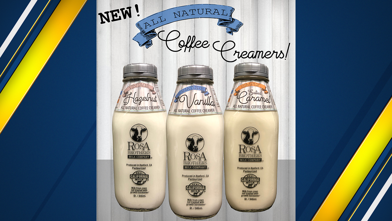 The flavors include Signature Vanilla, Simply Salted Caramel and Vintage Hazelnut.