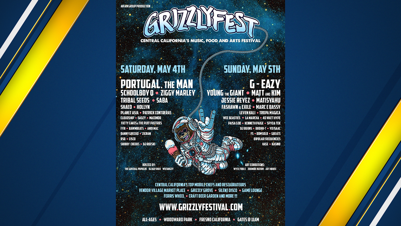 The line-up of acts for Fresno Grizzly Fest 2019 has been released.
