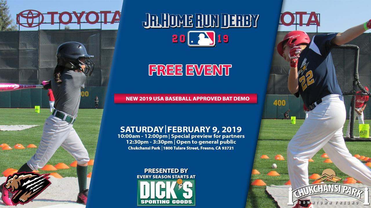 Chukchansi Park to host Jr. Home Run Derby