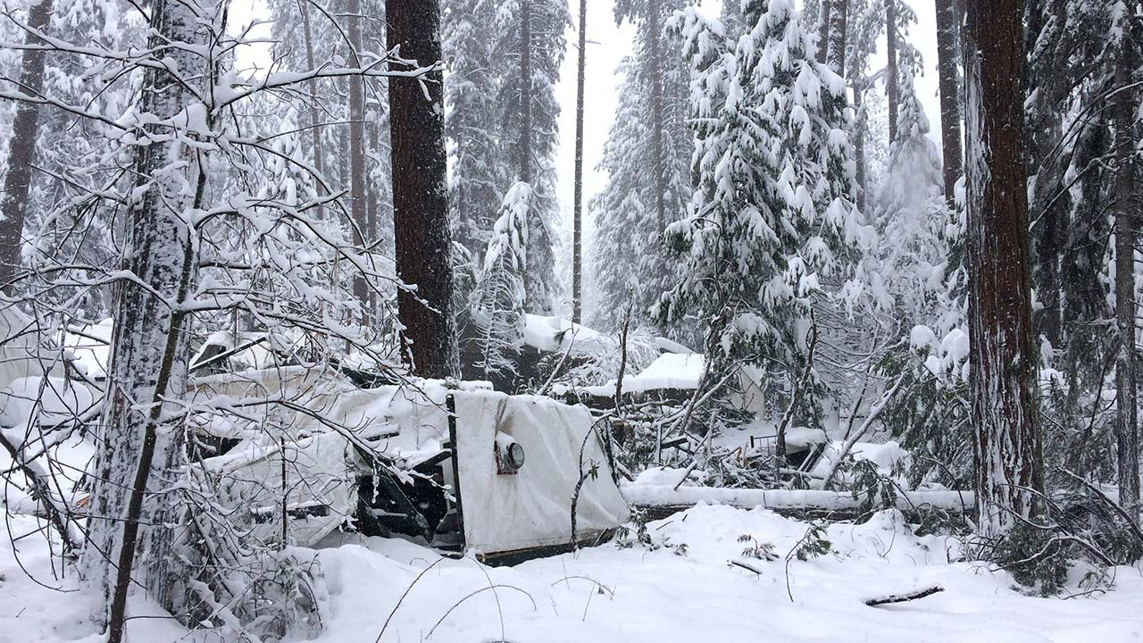 Yosemite badly hit by winter storm; several services, housing facilities shut down