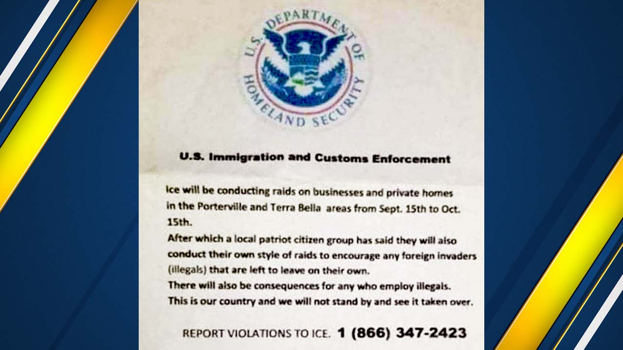 Residents in South Valley put on edge after fake flyer claiming ICE agents will soon conduct raids