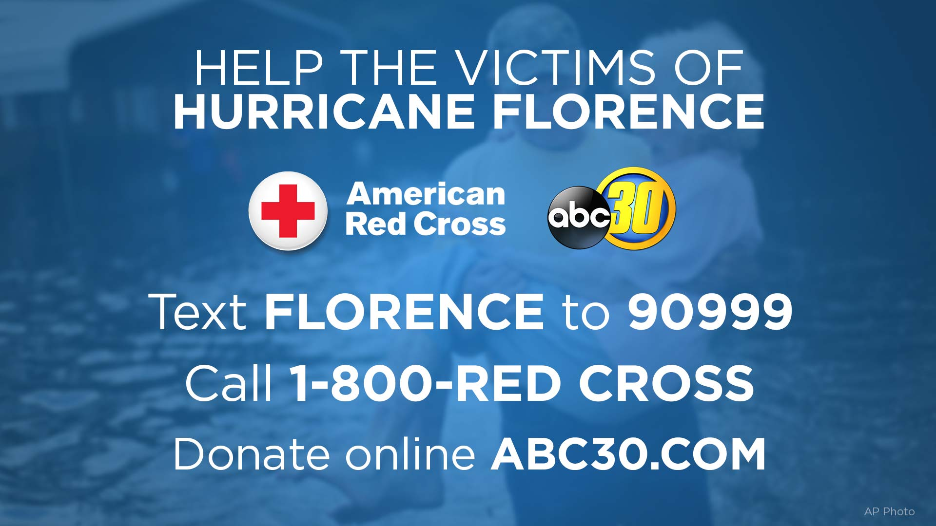 DONATE: Help the victims of Hurricane Florence