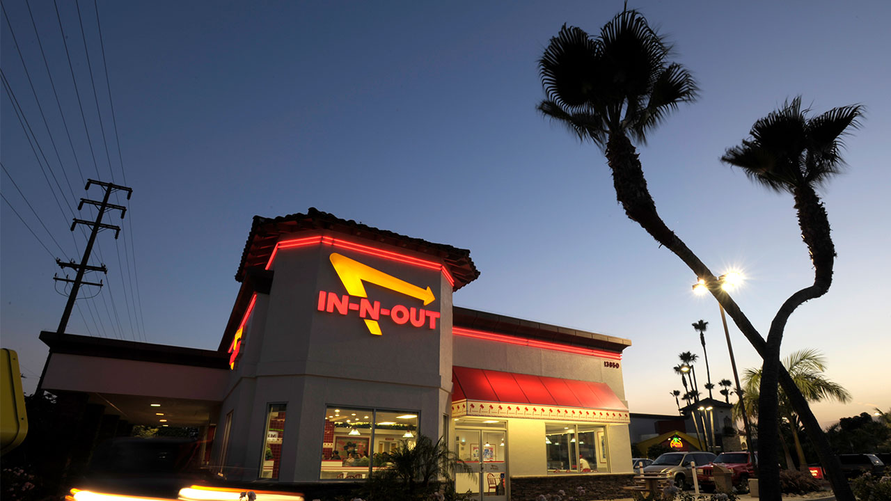 FILE - In-N-Out Burger restaurant in Baldwin Park, Calif.