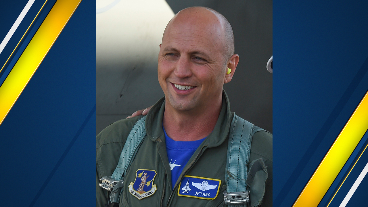 Lt. Col. Seth Jethro Nehring killed in plane crash in Ukraine. Lt. Col. Nehring has been a member of the 144th Fighter Wing for more than 20 years. (Photo: Air Force)
