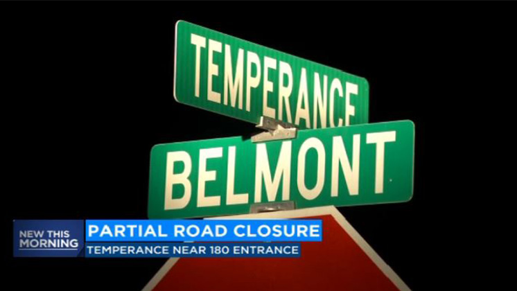 Parts of Temperance Avenue closed for construction for an estimated 3 months