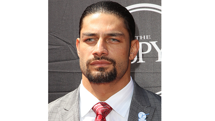 Professional Wrestler Roman Reigns arrives at the ESPY Awards at the Microsoft Theater on Wednesday, July 15, 2015, in Los Angeles.