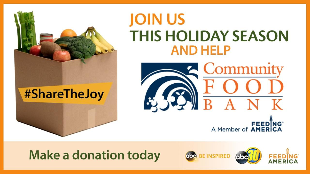 Share The Joy And Help Our Community Food Bank