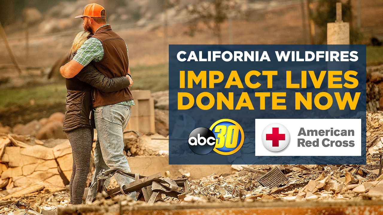 California fires: How to help victims of Camp Fire in Butte County or Woolsey Fire, Hill Fire in greater Los Angeles