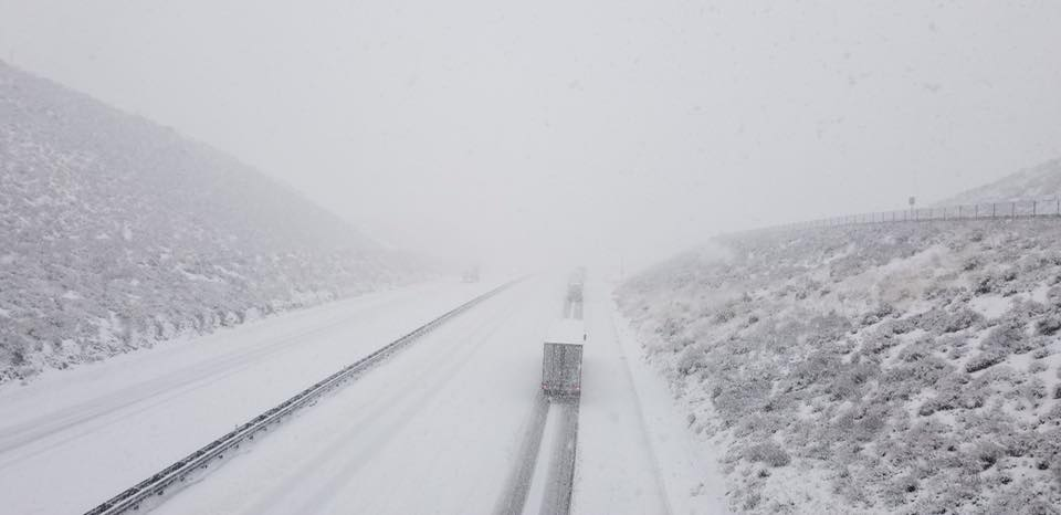 Grapevine closed in both directions due to ice and snow: Caltrans