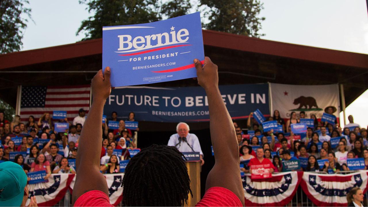 Bernie Sanders in Fresno