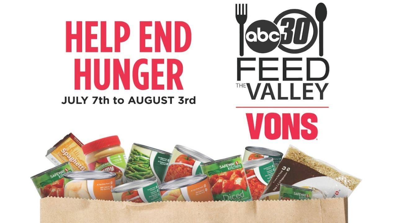 Feed The Valley Food Drive | abc30.com