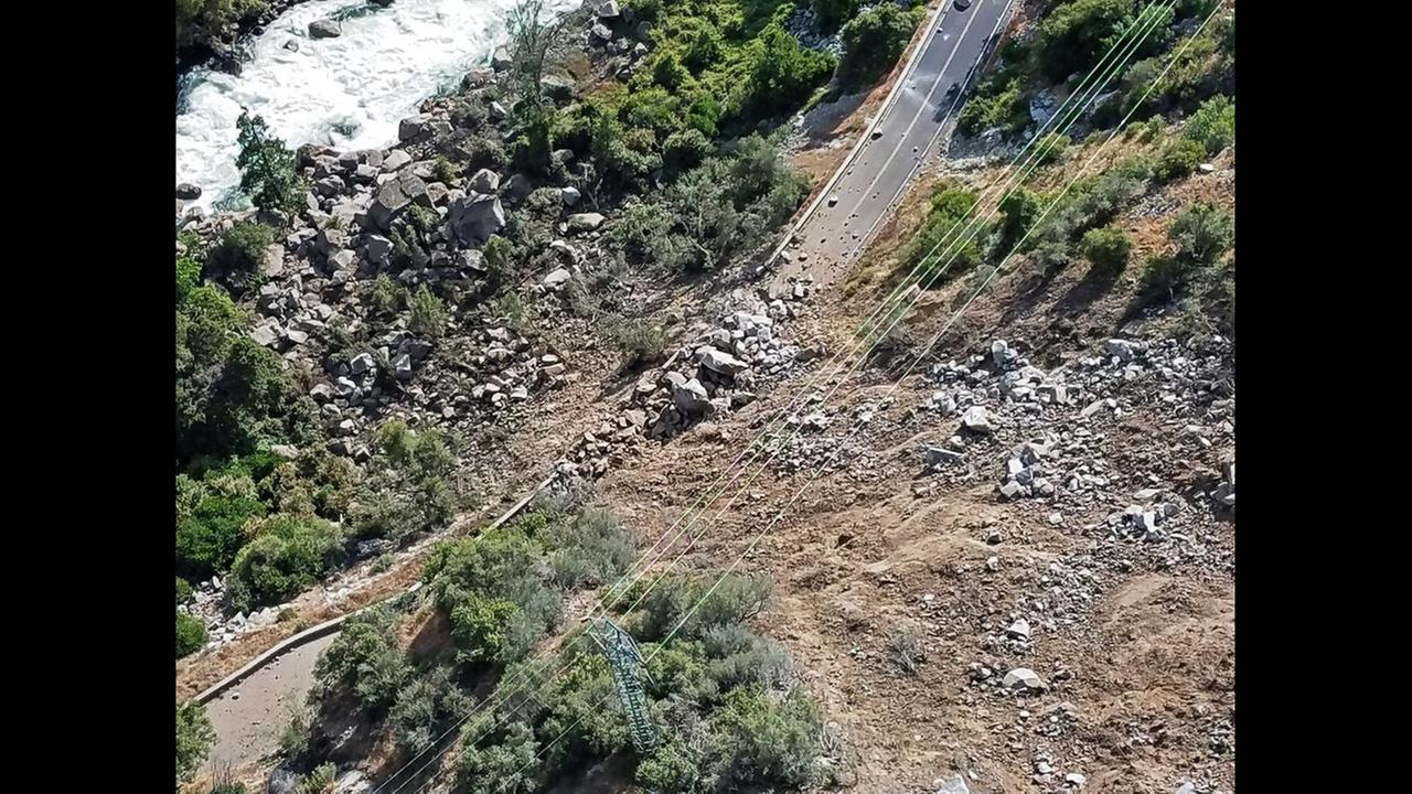 El Portal road will remain closed through this weekend due to a rockfall