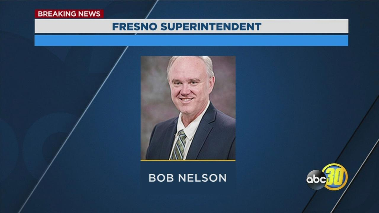 Fresno USD board selects Robert Nelson as Superintendent